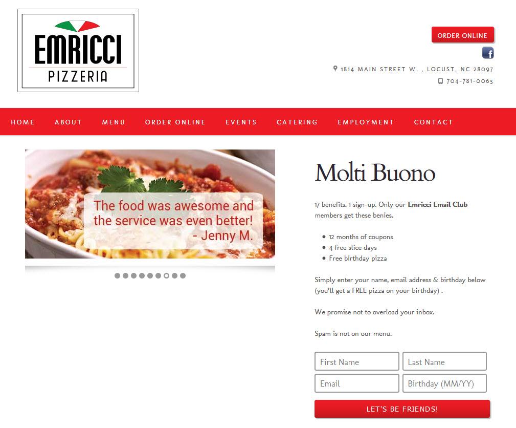 Emricci Pizzeria